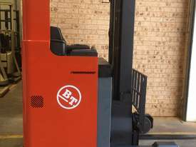 TOYOTA BT Reach Truck 1.4ton 5.4m Side Shift Low 6000 HRs 2010 Roll Out Batt A1! - picture0' - Click to enlarge
