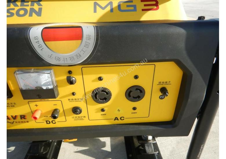 Wacker Neuson MG3 3.0Kw Air Cooled Petrol Generator