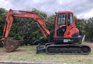 KUBOTA 5.3T Ex Government KX161-3 Air Conditioned & Heated Cab, 900mm Mud, 450mm & 300mm GP Buckets