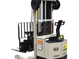 Crown 1.5T Walkie Reach Stacker Forklift with 4.2m lift FOR SALE - picture1' - Click to enlarge