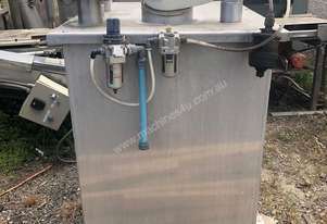 STAINLESS ASSOCIATES Stainless steel mix tank