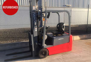 Refurbished 3 Wheel Battery Electric Forklift