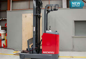 1.4T Battery Electric Stand Up Reach Truck