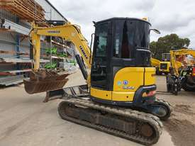 2014 YANMAR VIO55-6 EXCAVATOR WITH A/C CABIN, HITCH, BUCKETS AND 2838 HOURS - picture2' - Click to enlarge