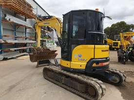 2014 YANMAR VIO55-6 EXCAVATOR WITH A/C CABIN, HITCH, BUCKETS AND 2838 HOURS - picture3' - Click to enlarge