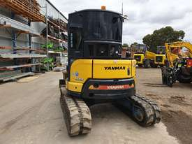 2014 YANMAR VIO55-6 EXCAVATOR WITH A/C CABIN, HITCH, BUCKETS AND 2838 HOURS - picture4' - Click to enlarge