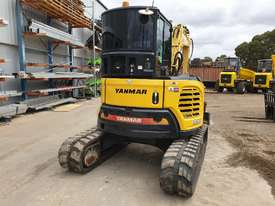 2014 YANMAR VIO55-6 EXCAVATOR WITH A/C CABIN, HITCH, BUCKETS AND 2838 HOURS - picture5' - Click to enlarge