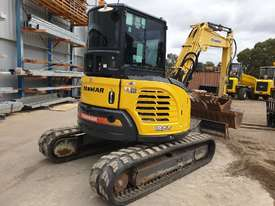 2014 YANMAR VIO55-6 EXCAVATOR WITH A/C CABIN, HITCH, BUCKETS AND 2838 HOURS - picture6' - Click to enlarge