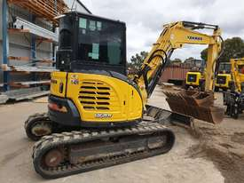 2014 YANMAR VIO55-6 EXCAVATOR WITH A/C CABIN, HITCH, BUCKETS AND 2838 HOURS - picture7' - Click to enlarge