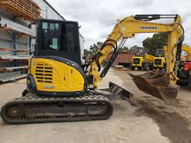 2014 YANMAR VIO55-6 EXCAVATOR WITH A/C CABIN, HITCH, BUCKETS AND 2838 HOURS - picture8' - Click to enlarge