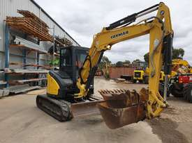 2014 YANMAR VIO55-6 EXCAVATOR WITH A/C CABIN, HITCH, BUCKETS AND 2838 HOURS - picture10' - Click to enlarge