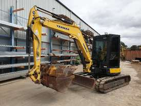 2014 YANMAR VIO55-6 EXCAVATOR WITH A/C CABIN, HITCH, BUCKETS AND 2838 HOURS - picture12' - Click to enlarge