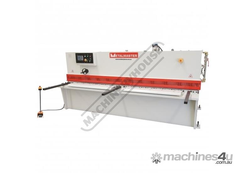 SG-2506E Hydraulic NC Swing Beam Guillotine 2500 x 6mm Mild Steel Shearing Capacity 1-Axis Ezy-Set N