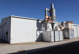 Saw dust extraction units