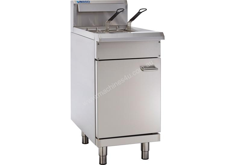 2 Basket Single V-Pan Fryer