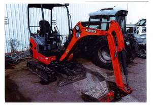 Used or Second (2nd) Hand Kubota Mini Excavators for sale