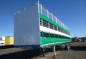 McGrath Semi Stock/Crate Trailer