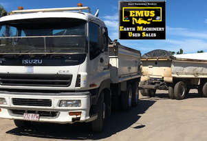2004 Isuzu Giga Tipper, Dog Tipper, cockerel box.  TS486