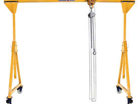 Portable Gantry Crane.  All aluminium construction. - picture3' - Click to enlarge