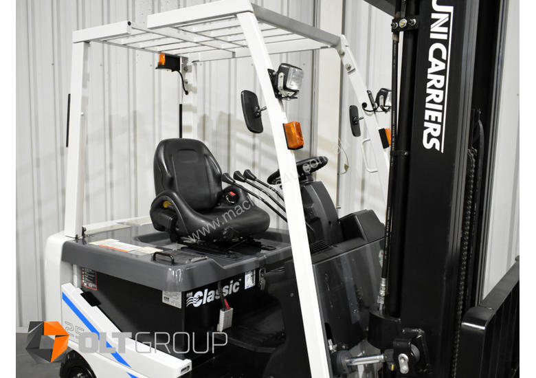 Unicarrier T1B 2.5 Tonne Battery Electric Forklift 6 METRE LIFT HEIGHT 2015 Series 1606 Hours