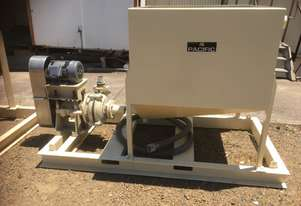 New Pacific feed sump with Warman 3/2CAH pump