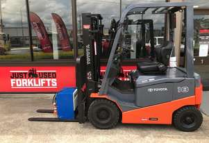 TOYOTA 8FBN18 10951 1.8 TON 1800 KG 4 WHEEL COUNTER BALANCED FORKLIFT CONTAINER FRIENDLY