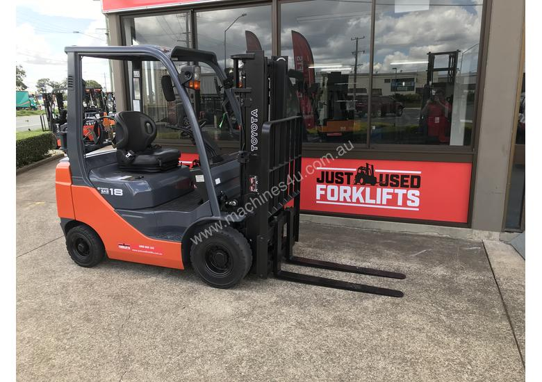 32- 8 FG1.8, 4 WHEEL COUNTER BALANCED FORKLIFT CONTAINER FRIENDLY
