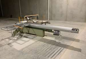 SCM Table saw with extraction