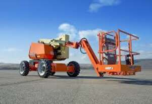 12/2017 JLG 340AJ - 4 W/Drive Diesel Knuckle Boom (Hire or Buy)