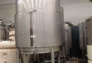 Stainless Steel Jacketed Mixing Tank, 5,000Lt, 1700mm Dia x 2400mm H