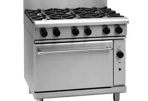 Waldorf 800 Series RNL8619GC - 900mm Gas Range Convection Oven Low Back Version