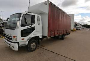 2010 MITSUBISHI FUSO FK 600 - Tautliner Truck - Tray Truck - Tail Lift