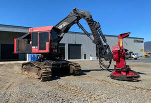 Used 2008 Valmet 475 FXL Levelling Feller Buncher with Quadco Disc Saw