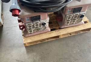 Distribution Boards and leads