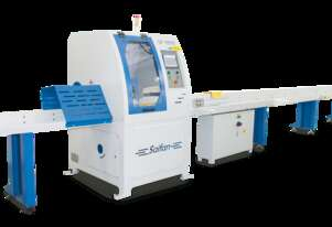 High production auto cut-off saw