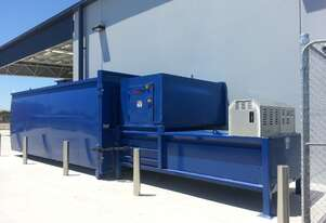 Stationary Compactor S1500 |  Cardboard Boxes & General Waste | Ideal for compacted spaces