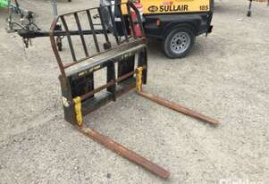 04/15, Digga, DPF-1200, Pallet Fork Tyne Attachment To Suit Skid Steer., Serial No. 15040200-41