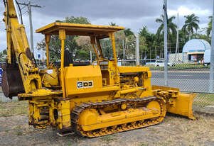 CAT D3 Bulldozer with Backhoe Attachment