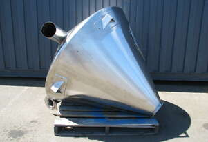 Stainless Cyclone Hopper Loader - 900L