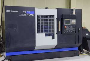 2014 Hwacheon T2-2T-YSMC Integrated Multi Axis Turning Center
