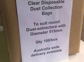 T800 Clear Dust  Collection bags,  515mm - picture6' - Click to enlarge
