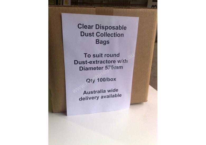 T800 Clear Dust  Collection bags,  515mm