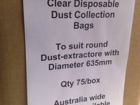 T800 Clear Dust  Collection bags,  515mm - picture7' - Click to enlarge