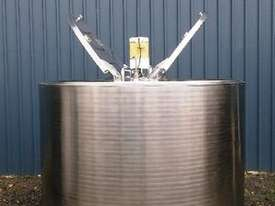 2,600lt Jacketed Stainless Steel Tank - picture0' - Click to enlarge