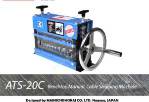 ATS-20 Benchtop Manual Cable Stripping Machine