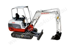 NEW TAKEUCHI TB228 2.8T CONVENTIONAL