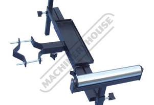 DPS-450 Drill Press Roller Support 450mm Wide Rollers, 600 - 900mm Length