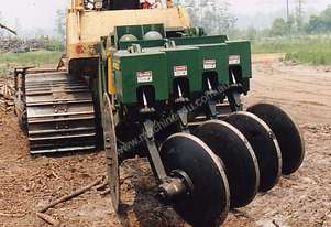 504 4-disk 'one-way' Sludge Plow