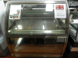 1200mm cold food display - dual level