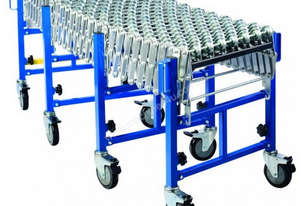 Heavy Duty Skate Wheel Expandable Conveyor 450mm W